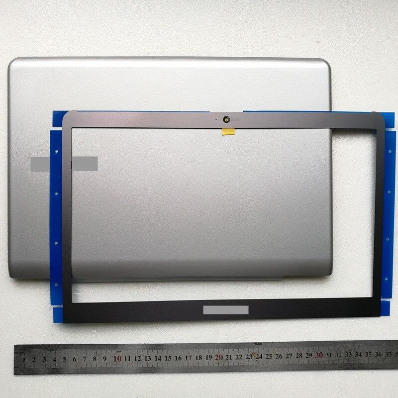 Новый топ чехол для ноутбука lcd задняя крышка + ЖК передняя рамка для samsung NP530U3C 530U3B 535U3C 532U3C 530u3b NP530U3B NP530U3C 13,3