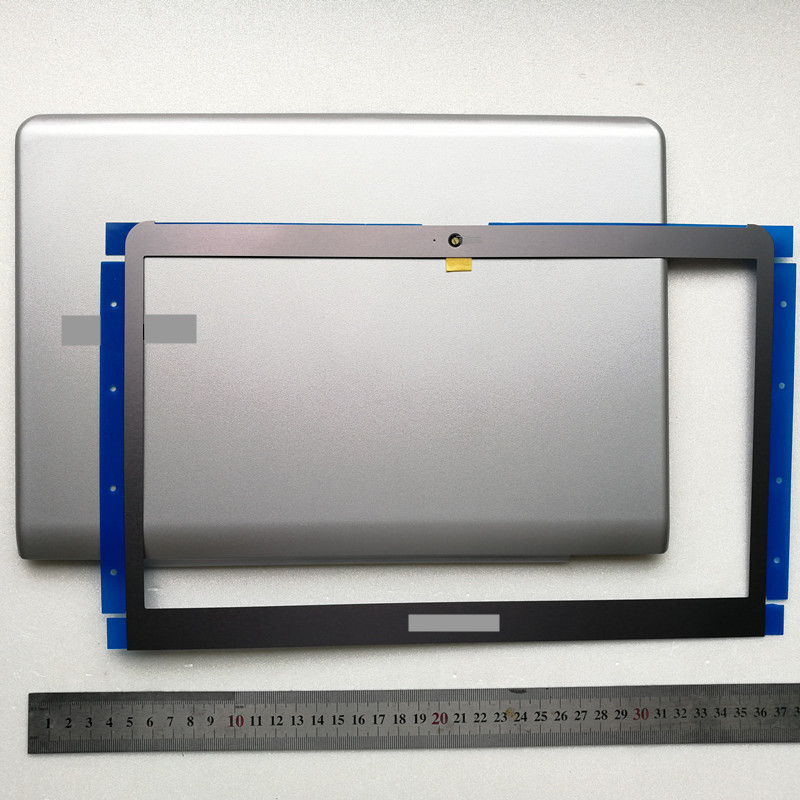 Novo portátil caso superior lcd capa traseira + lcd moldura frontal para samsung np530u3c 530u3b 535u3c 532u3c 530u3c np530u3b np530u3c 13.3