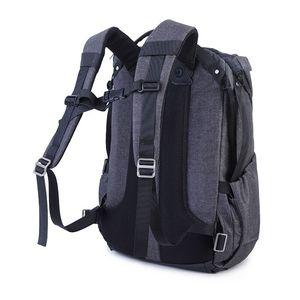Image 3 - Fotografía de gran capacidad Cámara impermeable a prueba de golpes a prueba mochila de las mujeres de los hombres, bolsa de viaje para ordenador portátil de 15 pulgadas DSLR funda Casual