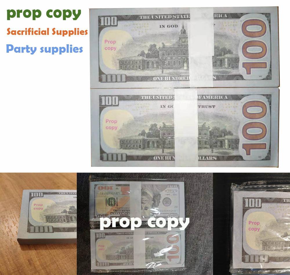 False Dollar Copy For Magic Art Play Party Props Joss Paper Burning Paper Sacrifice Supplies Ingot Dollar Paper For Dead Memory