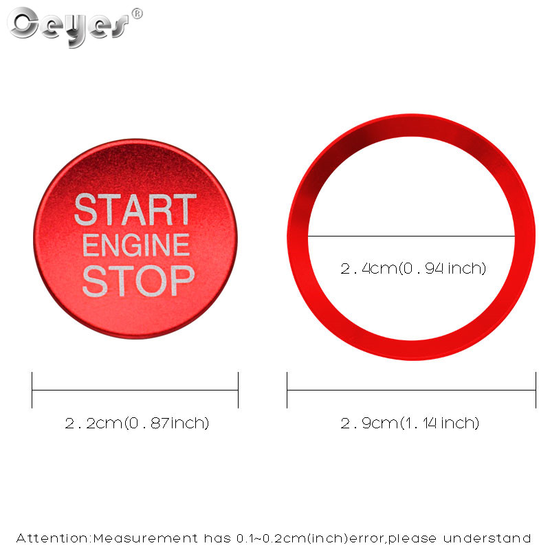 Car Start Engine Button Key Ring for ALFA ROMEO (14)