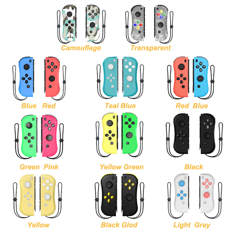 Wireless Bluetooth Left & Right  Game Controller Gamepad For Nintend Switch NS  Game for Nintend Switch Console r25