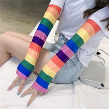 Arm-Sleeves Wraps Cool Sport Women Sunscreen Print Working Summer Girl Fashion Outdoor