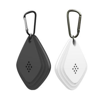 Przenośne ultradźwiękowe elektryczne urządzenie przeciw komarom wiszące odstraszacz szkodników mysz owad odrzuć repelenty ładowania USB tanie i dobre opinie Pszczoły Pchły Muchy Komary Hornets Ultrasonic Pest Repellers Brak 1 8MA USB charging (support fast charging) 4 45 * 1 25 * 6 2cm 1 75*0 49*2 44in