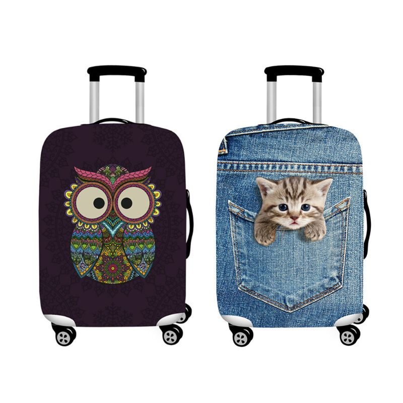 Travel Luggage Cover Bags Protector Elastic Suitcase DustProof Covers
