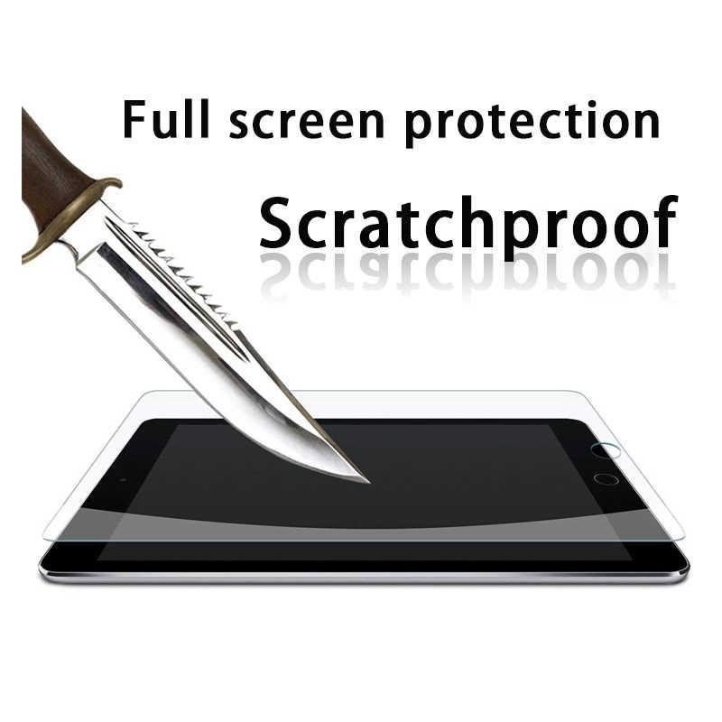 Pelindung Layar untuk Samsung Galaxy Tab A 10.1 2019 10.5 2018 Tepi Melengkung Tempered Kaca Film untuk Galaxy tab S5e S4 S3