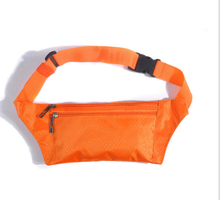 Portable Sport Running Bum Bag 7Colors Convenient Outdoor Fanny Pack Travel Waist Money Belt Zip Pouch Wallet Unisex Storage Bag new 1pc unisex multi functional pockets bum bag handy pack waist belt zip pouch