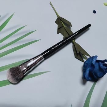 1Pcs High quality Facial Makeup Brush Liquid Foundation Concealer Powder BB Cream Curve brush Fashion Beauty Tools Maquiagem 1