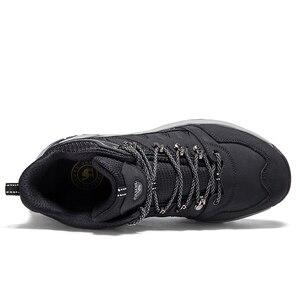 Image 3 - 낙타 남성 하이킹 신발 등산 배낭 트레킹 부츠 야외 신발 안티 슬립 마운틴 전술 부츠 따뜻한 하이 탑 신발