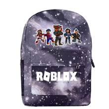 Robloxer game casual backpack for teenagers Kids Boys Student School Bags travel Shoulder Bag Unisex Laptop Bags недорого