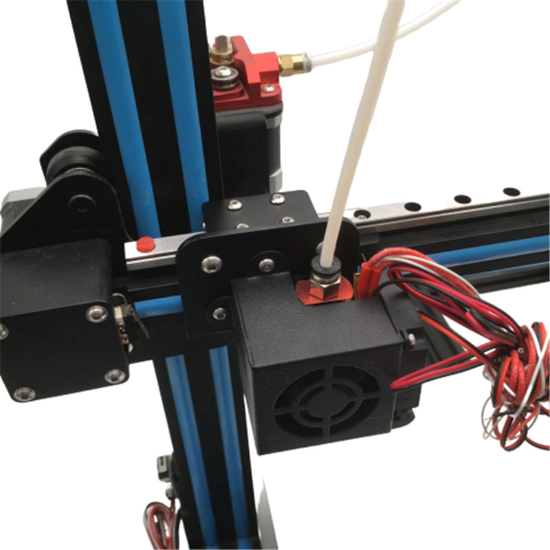 Creality CR-10S S4 S5 Ender 3 3D Printer X Axis Linear Rail Upgrade Kit Aluminum Linear Rail Mod For Creality Ender 3 CR-10