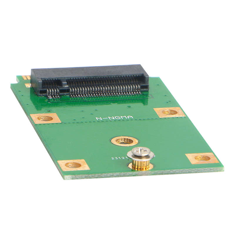 M.2 Ngff Ssd To Mini Pci-E Msata Adapter Card Replacement Converter