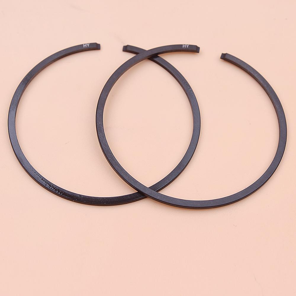 2pcs/lot 46mm X 1.2mm Piston Rings For Stihl 034 (Old Model) MS191T MS340 MS280 Chainsaw Part 1125 034 3003