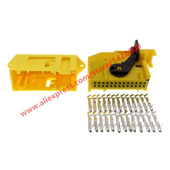 1 Set 26 Way/Pin ECU Automotive Connector 185879-1 185226-1 Wiring Harness Connector Female Male Auto Plug image