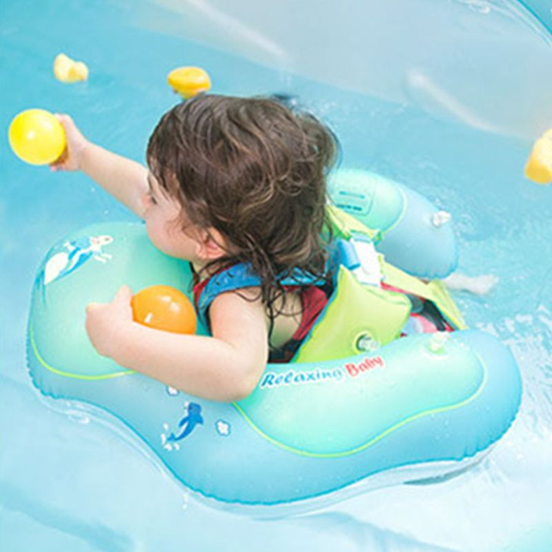 Inflatable Baby Kids Swimming Ring Pool Infant Safety Float Circle Infants Accessories