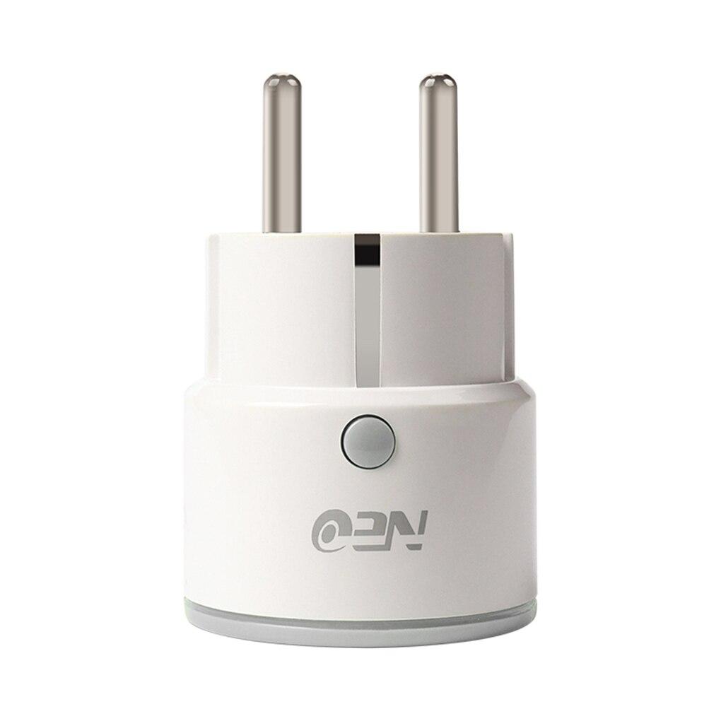 NEO Coolcam NAS-WR01W UE enchufe inteligente inalámbrico 2,4 Ghz WiFi enchufe soporte Smartphone Control remoto para Alexa NEO COOLCAM Z-wave Plus a casa una clave SOS y de Control remoto inteligente Sensor de automatización de Sensor