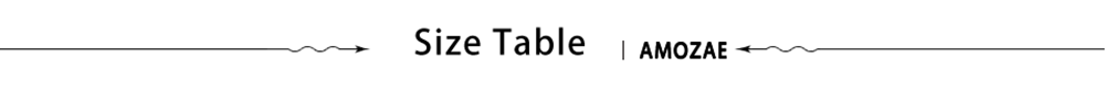 Size Table new