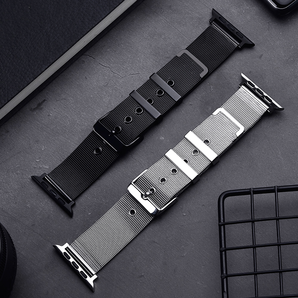 Milanese Loop For Apple Watch Band Series 5 4 44mm 40mm Iwatch 38mm 42mm For Watchstrap Series 3 2 1 Watchband Strap Accessories