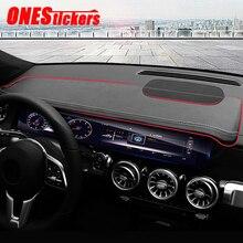 רכב סטיילינג אביזרי לוח מחוונים ניווט תצוגת מסך הצללת שמש צל לוח עבור מרצדס בנץ GLB Class X247 2020 2021 +