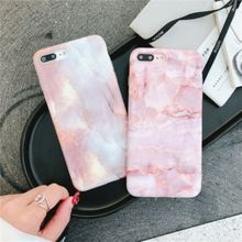Fashion marble phone case for iphone 6/6s/7 plus  Case Glossy Soft TPU Cover iPhone X 8 Plus 7