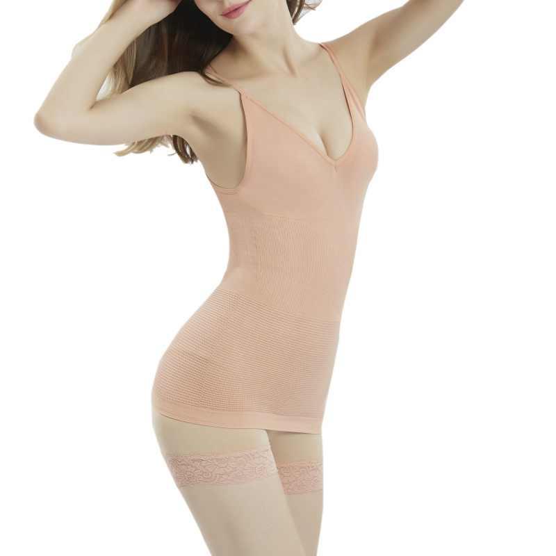 Женский бюстгальтер, Корректирующее белье, съемное Корректирующее сексуальное нижнее белье с v-образным вырезом, однотонный топ на бретельках, жилет для похудения, корсет, Liva girl