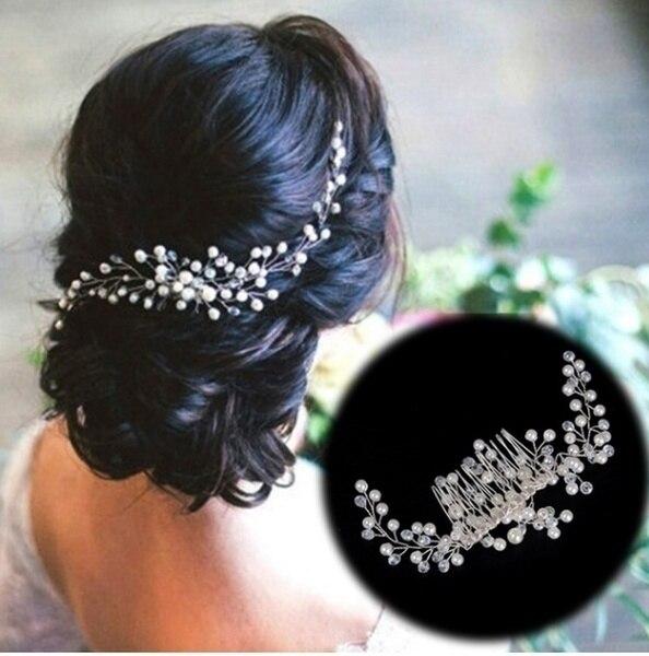 Pearl Handmade Hair Comb