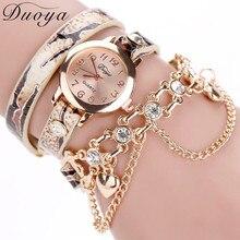 Hot sale fashion luxury heart pendant watches bracelet watch women wrist