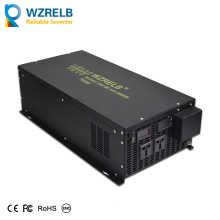 Reliable Continuous Power peak 7000w pure sine wave solar power inverter DC 12V / 24V 48V  110V