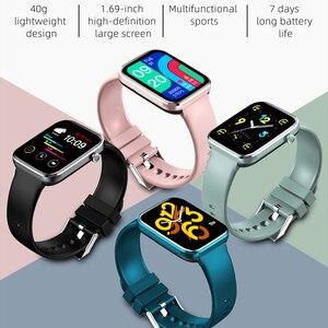 Image 2 - Chycetスマート腕時計男性女性心拍数血圧フィットネストラッカー時計音楽コントロールスポーツスマートウォッチandroid ios 2021