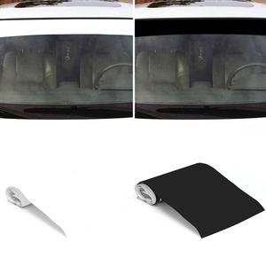 Image 1 - Pegatinas de vinilo para parabrisas de coche, tira de rayas de carreras, pegatina decorativa para visera solar, adhesivo protector solar en blanco