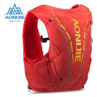 AONIJIE C962 Улучшенная кожа 12L гидратация Рюкзак Пакет сумка жилет мягкая вода колба для мочевого пузыря для пешего туризма тропа бега марафона ...
