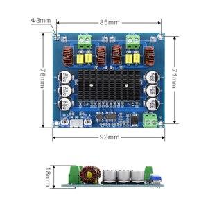 Image 5 - XH A303 предустановленный op amp TPA3116D2 цифровой усилитель мощности TPA3116 стерео 120 Вт + 120 Вт аудио усилитель