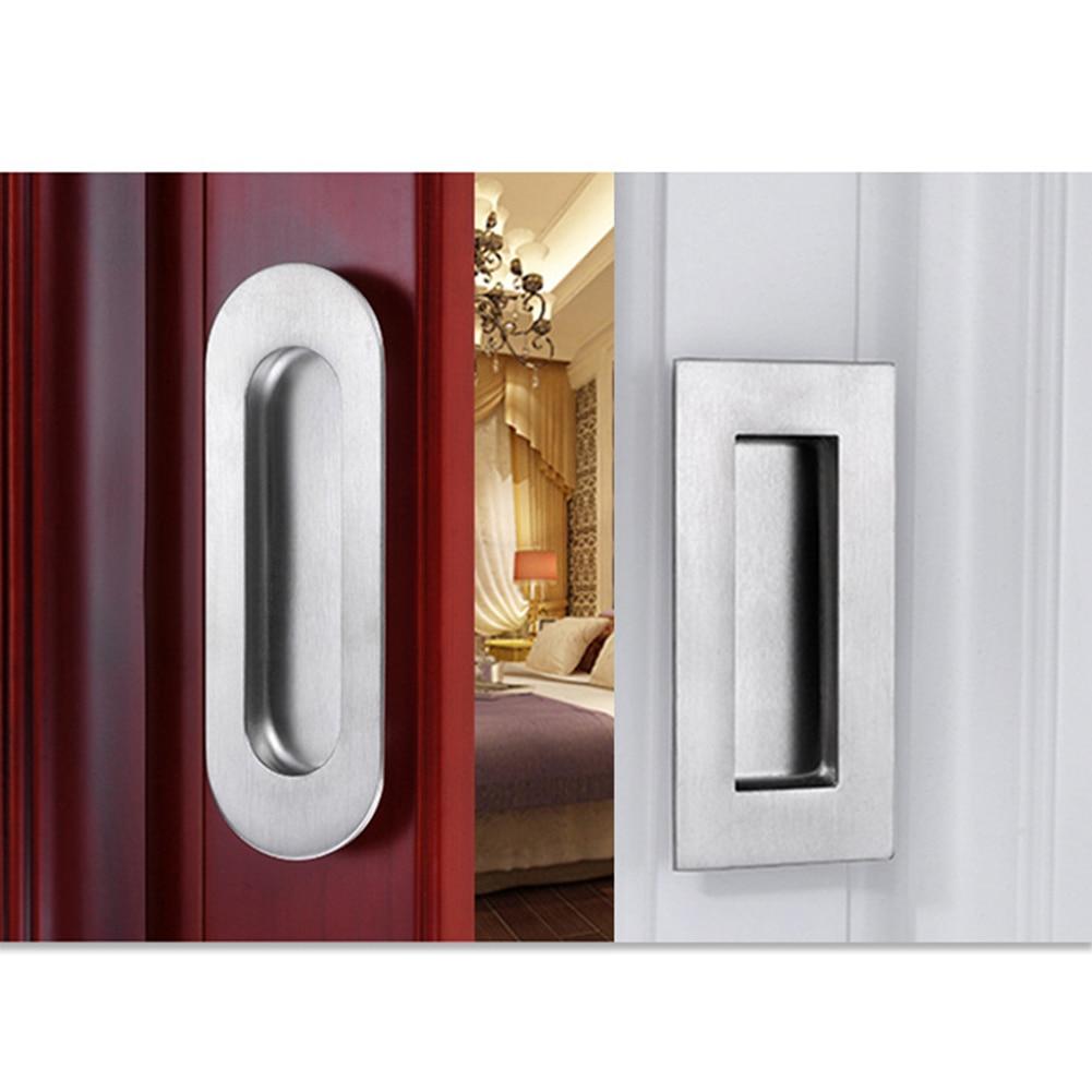 Дверные ручки шкаф утопленный шкаф из нержавеющей стали ручки для ящика раздвижные вставки