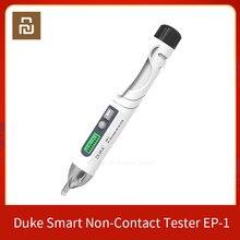 Linha elétrica do escapamento do indicador do sensor 12-1000v do detector do soquete da pena do verificador do não-contato esperto de duke contato contato seguro