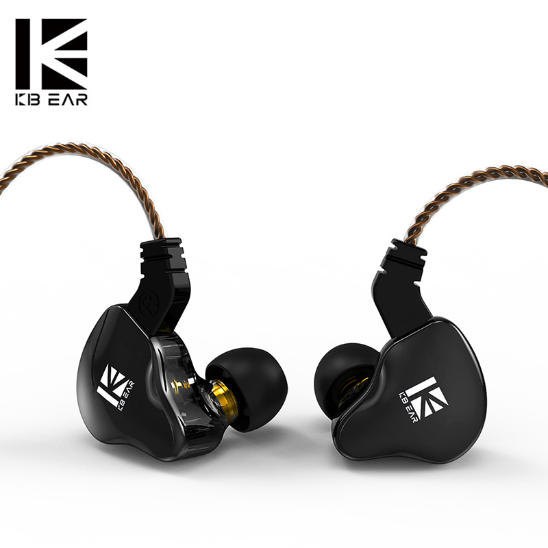 2020 KBEAR KS2 Hybrid DD BA In ear earphone With 0 78mm pin TFZ earbud Hifi Sport Running game earplug KBEAR KB06 KB04 TRI I3