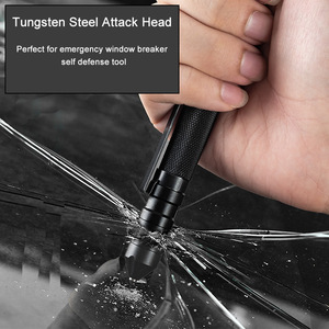 Image 2 - 3 In 1 Military Tactical Pen Portable Self Defense Tool Emergency Whistle Window Breaker For Outdoor Camp Survival EDC Tool