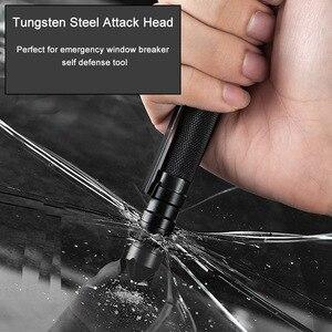 Image 2 - 3 In 1 Military Tactical Pen Tragbare Selbstverteidigung Werkzeug Notfall Pfeife Fenster Breaker Für Outdoor Camp Überleben EDC Werkzeug