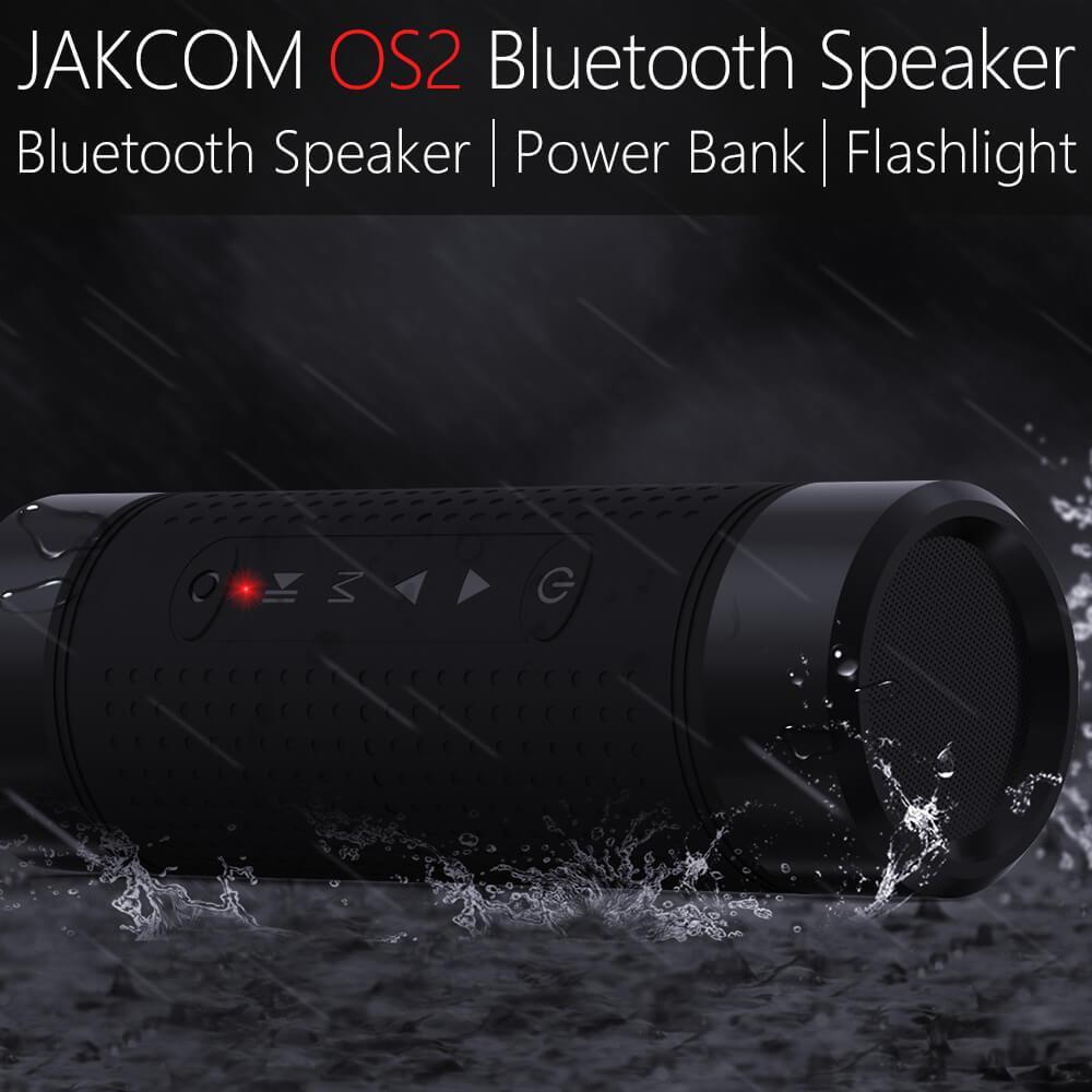 Jakcom OS2 внешняя Bluetooth колонка, 5200 мАч, внешний аккумулятор, портативный сабвуфер, басовый динамик, светодиодный светильник, стерео мини-динами...