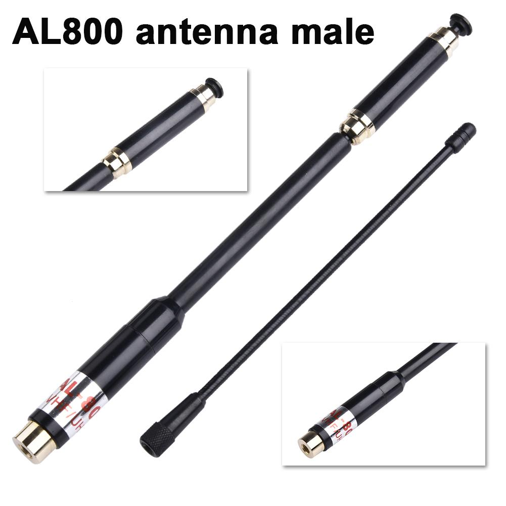Walkie-talkie Antenna Extendable Dual Band Antenna For Puxing PX-2R TYT TH-UVF8D For Yaesu FT-FT-60 R Zastone ZT-2R + VX-8DR