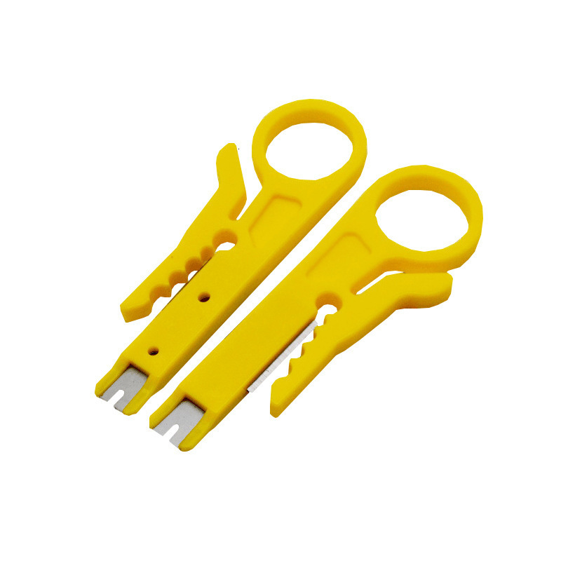 Hit Wire Knife High Quality Mini- Small Yellow Knife Simple And Easy Peel Line Hit Line Tool Carry On Oem Oem