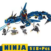 цена на Ninjagoe Dragon Knight Building Blocks Kids Children DIY  Sets Toys Friends Blocks bricks Gifts Ninjagoe