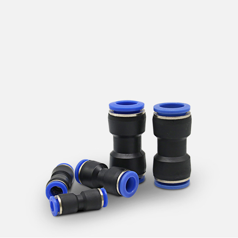 Pneumatic fittings PY/PU/PV/PE water pipes and pipe connectors direct thrust 4 to 16mm/ PK plastic hose quick couplings 2