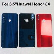"""Original New For 6.5""""Huawei Honor 8X 3D Glass Back Battery Cover Housing+Glass Lens+Camera Frame+Sticker JSN L2, JSN L42 JSN"""