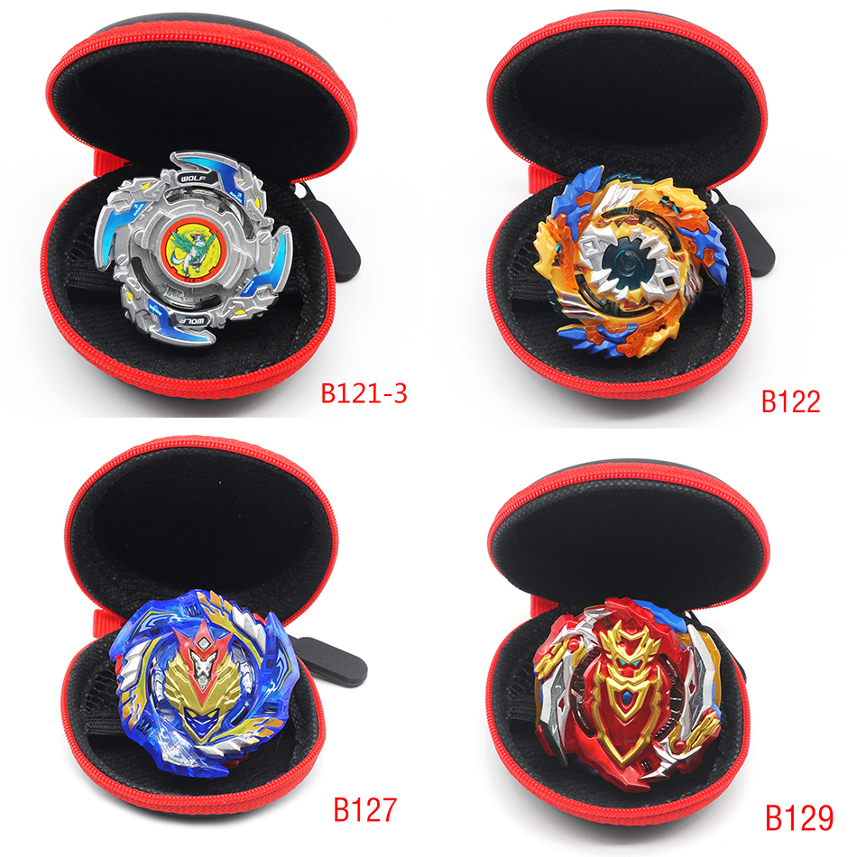 Hot <font><b>Beyblade</b></font> Burst B121-3,B122,B127,<font><b>B129</b></font>..... New Toys With Launcher Bag Bables Metal Top Blades Children Toy Blade image