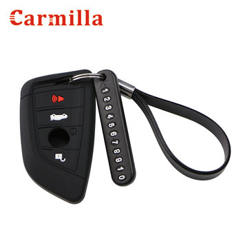 New Car Key Wallets Cover Car Holder Case for BMW E30 E36 E90 E60 E84 E39 E46 E90 E63 E53 F10 F30 X1 X3 X4 Remote Protector image