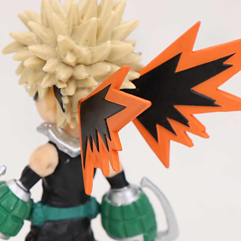 9 centimetri My Hero Academia Midoriya Izuku Bakugou Katsuki Todoroki Shouto OCHACO URARAKA Kirishima Eijiro Action Figure Giocattolo