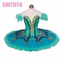sleeping beauty professional ballet Tutus women flower fairy classical tutu pancake girls stage costumeBT9029