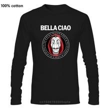 Bella Ciao Tshirt For La Casa De Papel Lovers T Shirt Letter Cotton Spring Printed O Neck Graphic Leisure Comical Shirt