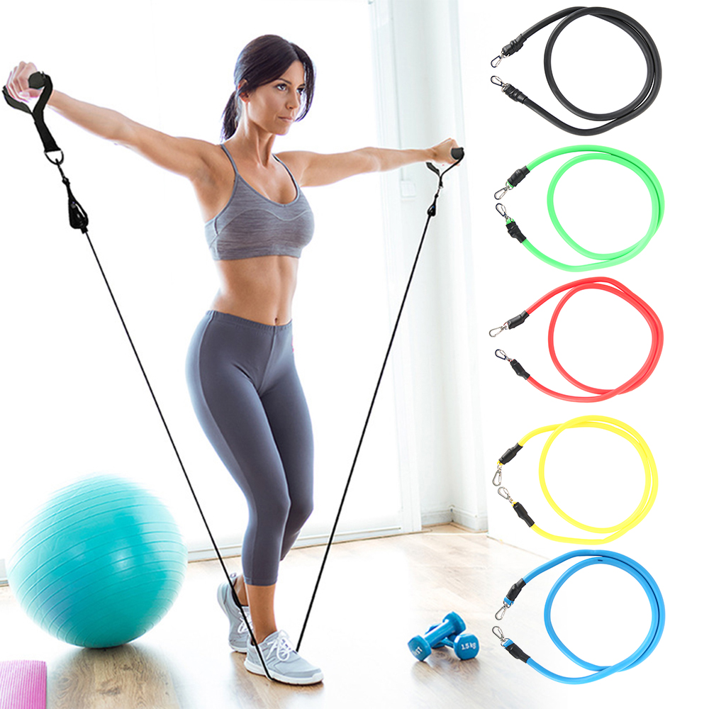11-13pcs Fitness Resistance Bands 9
