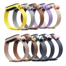 Doll-Strap Bracelet Mi-Band Xiaomi Silicone for 5/4/3/.. 4-3
